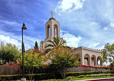 Newport Beach Temple Art Print