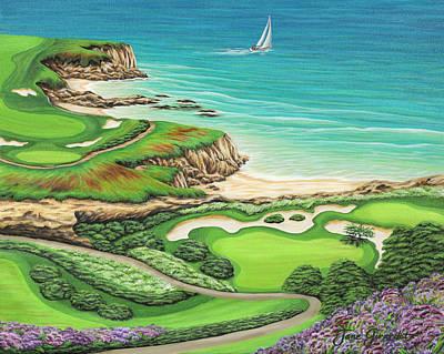 Newport Coast Art Print