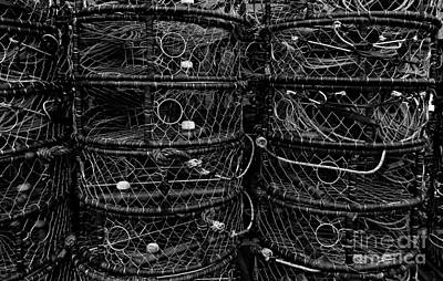 Photograph - Newport Crab Pots 1 by Chalet Roome-Rigdon