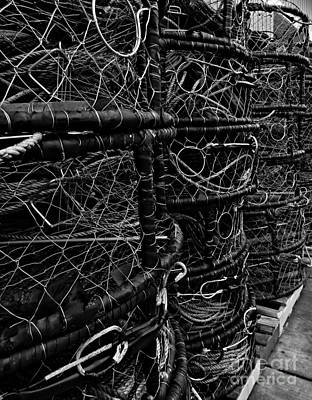 Photograph - Newport Crab Pots 3 by Chalet Roome-Rigdon