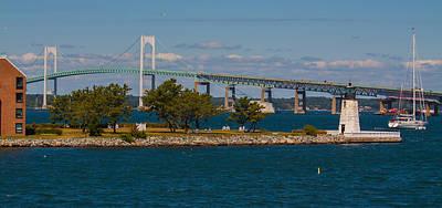 Photograph - Newport Harbor by Brian MacLean