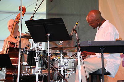 Photograph - Newport Jazz 2014 by Paul SEQUENCE Ferguson             sequence dot net