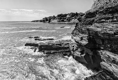 Photograph - Newport Ri Cliff Walk  by Marianne Campolongo