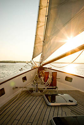 Photograph - Newport Sail by Allan Millora Photography
