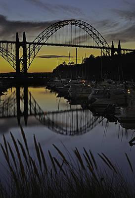 Peter Iredale Photograph - Newport Sunset by George Herbert