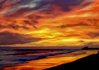 Painting - Newport Twilight by Michael Pickett