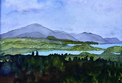 Painting - Newport Vt From Brownington Lookout by Donna Walsh
