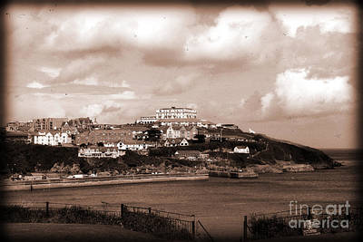 Digital Art - Newquay In Cornwall by Nicholas Burningham
