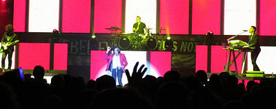 Photograph - Newsboys Live by Aaron Martens