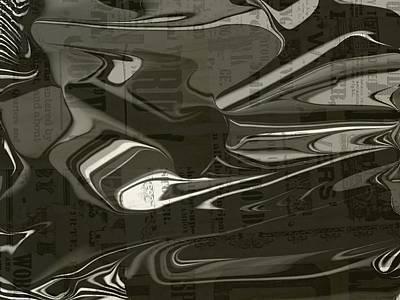 Etc. Digital Art - Newspaper by HollyWood Creation By linda zanini