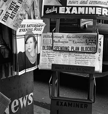 Newsstand, 1939 Print by Granger
