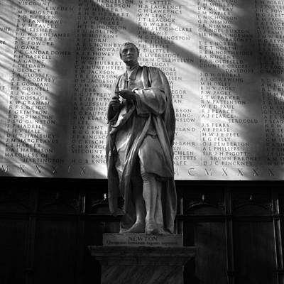 Photograph - Newton At Cambridge by Ed Pettitt