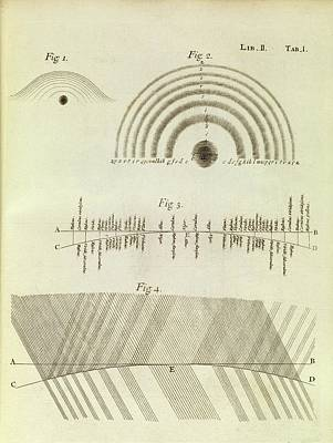 Isaac Newton Photograph - Newton's Optics by Middle Temple Library