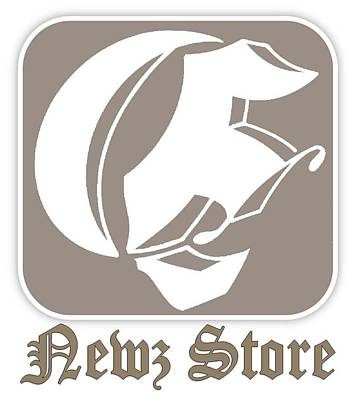 Eclipse Newspaper Store Logo Art Print by Dawn Sperry