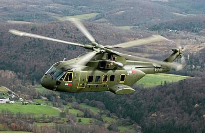 Pentagon Photograph - Next Generation Presidential Helicopter by Lockheed Martin