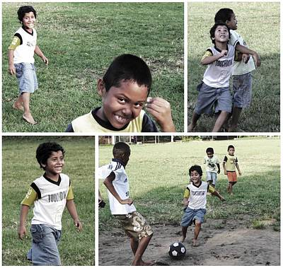 Photograph - Next Generation Soccer Star by Nina Donner
