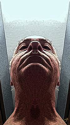 Self-portrait Digital Art - Next by Ron Bissett