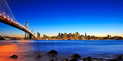 Photograph - Next To The Bay Bridge And San Francisco Skyline by Joel Thai
