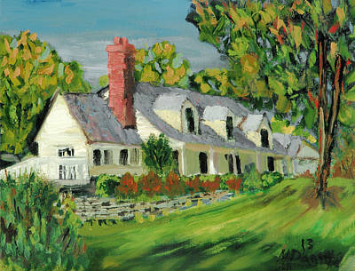 Cape Cod Painting - Next To The Wooden Duck Inn by Michael Daniels