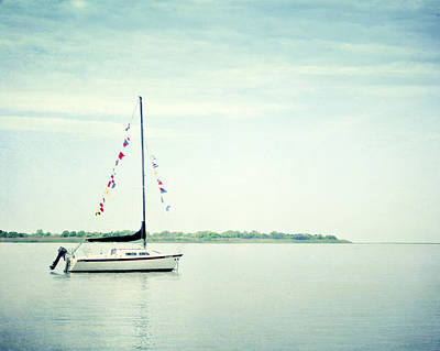 Sail Boat Photograph - Next Voyage by Carolyn Cochrane