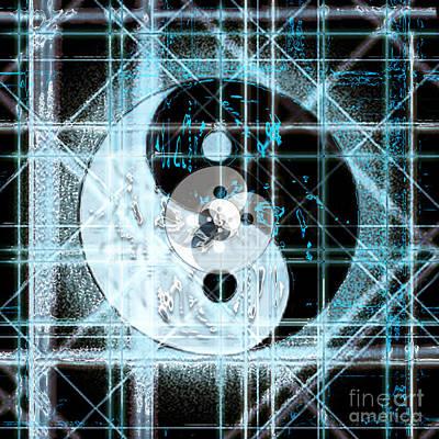 Digital Art - Nexus Balance by Steven Murphy