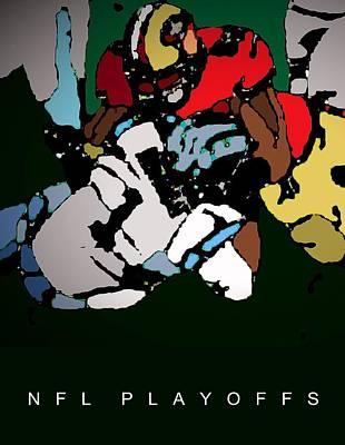 Nfl Playoffs Poster Art Print