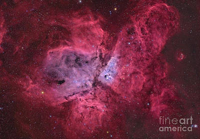 Photograph - Ngc 3372, The Eta Carinae Nebula by Roberto Colombari