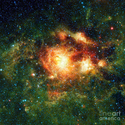 Heavenly Body Photograph - Ngc 3603, Open Cluster Of Stars by Science Source