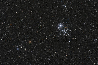 Cassiopeia Constellation Photograph - Ngc 457, The Owl Cluster by Lorand Fenyes