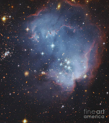 Ngc 602, Starforming Complex Art Print by Robert Gendler