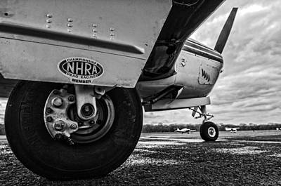 Photograph - Nhra Airplane 2 by Andy Crawford
