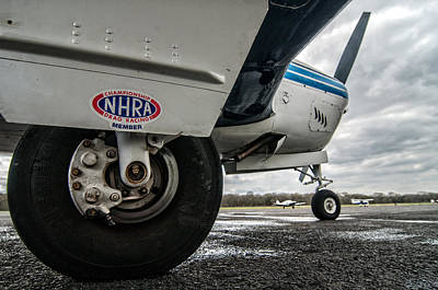 Photograph - Nhra Airplane by Andy Crawford