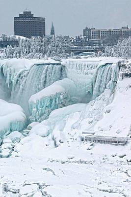 Photograph - Niagara American Falls In Ny by Charline Xia