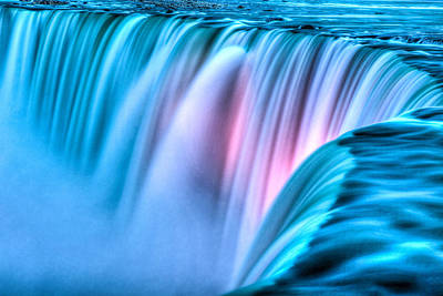 Craig Brown Photograph - Niagara At Night by Craig Brown
