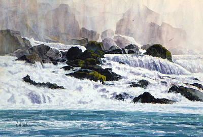 Painting - Niagara by Bill Hudson