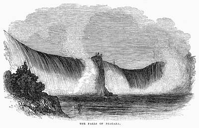 Painting - Niagara Falls, 1842 by Granger