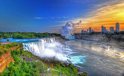 Photograph - Niagara Falls 5 by Jim Boardman