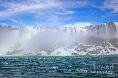 Photograph - Niagara Falls America by Charline Xia