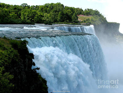 Photograph - Niagara Falls American Side by Rose Santuci-Sofranko