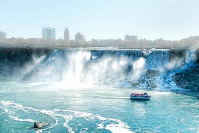 Photograph - Niagara Falls by Boris Mordukhayev