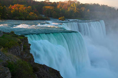 Photograph - Niagara Falls by Byron Jorjorian