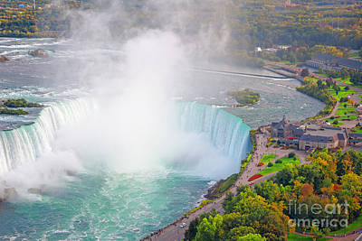 Photograph - Niagara Falls Canada by Charline Xia