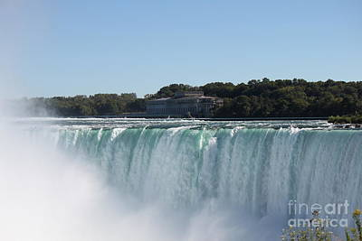 Photograph - Niagara Falls Canada Hydro by Jennifer E Doll
