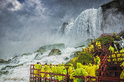 Photograph - American Falls Niagara Cave Of The Winds by LeeAnn McLaneGoetz McLaneGoetzStudioLLCcom