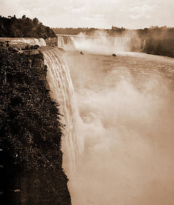 Niagara Falls From Prospect Point, Jackson, William Henry Print by Litz Collection