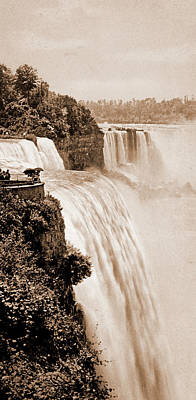 Niagara Falls From Prospect Point, Waterfalls, United Print by Litz Collection