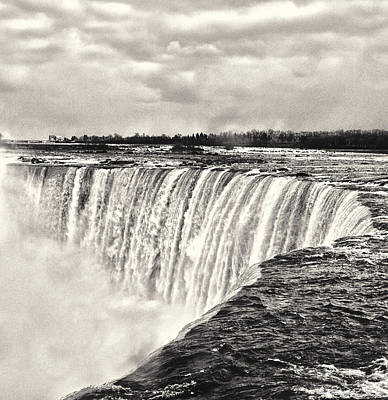 Photograph - Niagara Falls  by Garvin Hunter