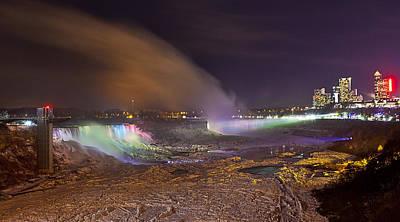 Photograph - Niagara Falls Ice Bridge by Richard Engelbrecht