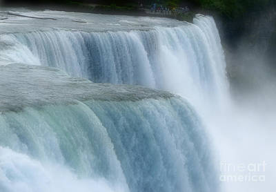 Photograph - Niagara Falls In Soft Focus by Rose Santuci-Sofranko