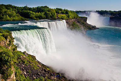 Photograph - Niagara Falls In The Day by John McGraw
